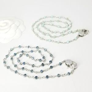 Jewelry - SALE Dainty Pave CZ Lock Necklace NEW